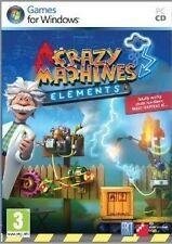 Crazy Machines Elements (PC DVD) NEU & VERSIEGELT