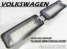 LED SMD ECLAIRAGE PLAQUE IMMATRICULATION VW PASSAT CC 08-13 TDI TSI TFSI 4motion