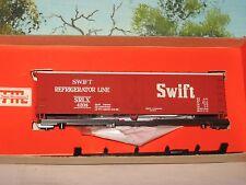 TRAIN MINIATURES HO SCALE #8057 40' WOOD REEFER SWIFT KIT #4208