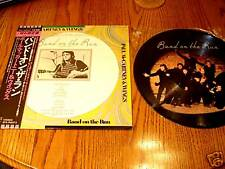 PAUL McCARTNEY BAND ON THE RUN PICTURE DISC with Obi