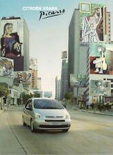 Citroen Xsara Picasso 2006-07 UK Market Sales Brochure LX Desire Exclusive