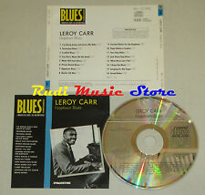 CD LEROY CARR Naptown blues BLUES COLLECTION 1993 DeAGOSTINI no mc lp dvd vhs(*)