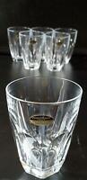 Whisky Glas Set -  6 Stück Blekristall