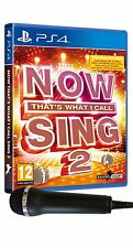 Now That's What I Call Sing 2: Microphone Pack [PlayStation 4 PS4, Region Free]