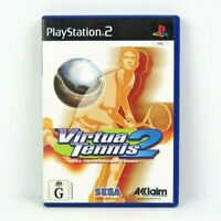 Virtua Tennis 2 PS2 Playstation 2 Game Complete PAL