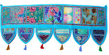 Indian Handmade Ethnic Toran Diwali Decoration Embroidered Garland Door Hanging