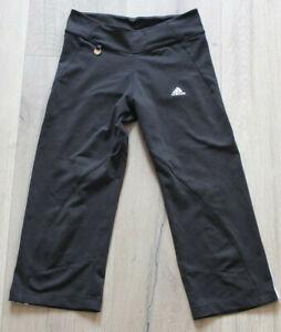 Adidas Climalite Training Capri Pants Size 140 9-10 J. Top Sport Jogging