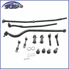 New 13pcs Front Suspension Tie Rods Track Bar Kit For Dodge Ram 1500 4wd