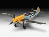 Messerschmitt Bf109 F-2 Revell Model Plane Set Including Glue Paint & Brush 1:72