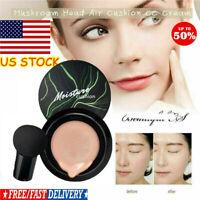 100% Air Cushion Mushroom Head CC Cream Concealer Moisturizing Makeup BB Cream