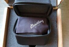 Breitling BRAND NEW watch travel/storage box. FREE polishing cloth in a box.