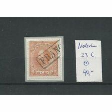 Nederland 23C met Franco-kastje  VFU/gebr   CV 40 €