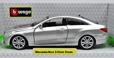 Mercedes-Benz E-Class Coupe Silver Scale 1:3 2 by Bburago