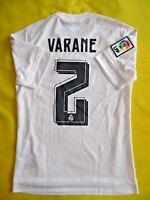 Varane Real Madrid Jersey 2015 2016 Home S Shirt Mens White Camiseta Adidas ig93