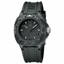 Luminox Men's Watch Sentry 0200 Series Black Dial Silicone Rubber Strap 0201.BO