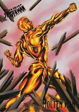 MOLTEN MAN / Spider-Man Fleer Ultra 1995 BASE Trading Card #38