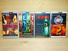 Sony PSP UMD Movie Video Lot Hostage Rent The Grudge & Gone in 60 Seconds