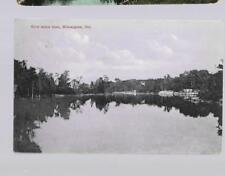pk35637:Postcard-River Below Town,Bobcaygeon,Ontario