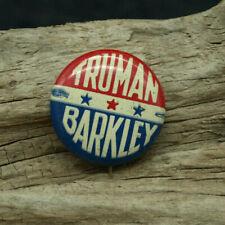 1948 Truman & Barkley President Campaign Button Political Pinback Pin (D3)