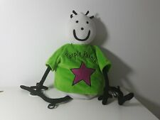 Purple Ronnie Large character plush Bag Comic Con, Novelty
