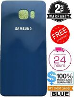 For Replacement Samsung Galaxy S6 G920 Battery Back Door Glass Cover BLUE