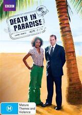 Death In Paradise Season 1 (DVD, 2012, 2-Disc Set), NEW SEALED REGION 4