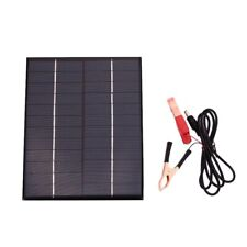 5.5W 12V Solar Panel Battery Charger Board Waterproof Polycrystalline Plate Ou