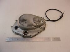 1978 HONDA XL350 XL 350 MOTOR CLUTCH SIDE COVER W/ CABLE