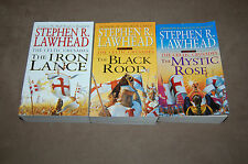 The Celtic Crusades Trilogy by Stephen R. Lawhead - Iron Lance,Black Rood,Mystic