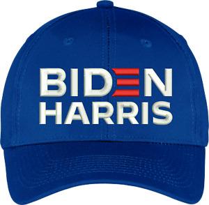 Biden Harris 2020  Election -  PRESIDENT  - 6 PANEL  embroidered Hat/Cap