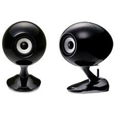 Fujitsu Ten Ltd ECLIPSE TD-M1 Wireless & Wired Coaxial Audiophile Speakers Pair