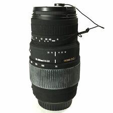 Sigma AF 70-300mm F4-5.6 APO DG NORMAL / MACRO Lens