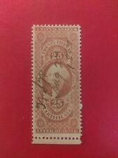 Scott US 1862-71 25 Cent Washington Power of Attorney Stamp
