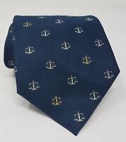 Cravatta paul & shark yachting 100% pura seta tie silk original made in italy