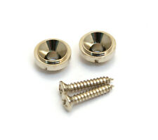 (2) Nickel Vintage Style Round Guitar String Guides/Trees for Tele® AP-0730-001