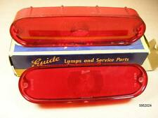 1961 1962 Pontiac Tempest NOS Tail Lamp Lens Pair, 5952024