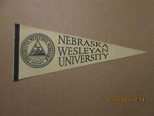 NCAA Nebraska Wesleyan University Seal Circa 2000's Team Logo College Pennant