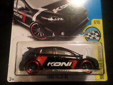 HW HOT WHEELS 2017 HW SPEED GRAPHICS #8/10 FORD FOCUS RS BLACK HOTWHEELS