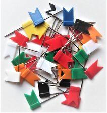 100 sortierte Pinn-Nadeln für Pinnwand #000095