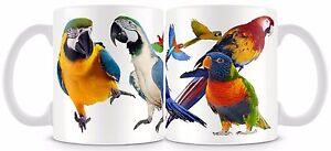 Parrot Mug 11oz  Bird Cup Parrots