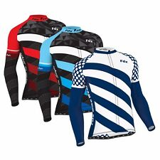 """FDX Men's """"Limited Edition"""" Cycling Jersey Roubaix Thermal Top Cycling Jacket"""