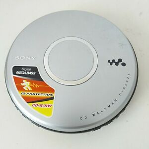 Sony Walkman D-EJ021 Personal Portable CD Player - Tested and Working