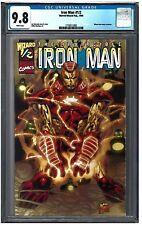 IRON MAN #1/2 CGC 9.8 (1999) Marvel Comics white pages
