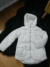 Girls winter coat age 10 years white from Zara