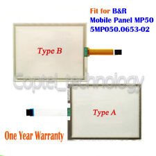New Touch Screen Glass for B&R Mobile Panel Mp50 5Mp050.0653-02 1 Year Warranty