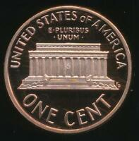 United States, 1995-S One Cent, 1c, Lincoln Memorial - Proof