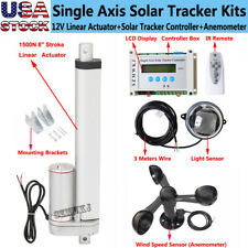 1500n 8 Linear Actuator Amplcd Controller Amp Anemometer Diy Solar Tracking Kits Cl