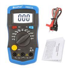Capacimetro Digital Medidor Capacidad Condensador Capacitancia Tester LCD Luz