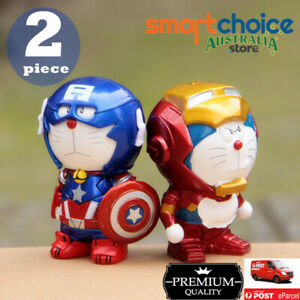 Doraemon Iron Man Captain America Toy Kid Doll Decals Home Decal Car Decal