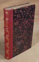 CHATEAUBRIAND - ETUDES OU DISCOURS HISTORIQUES SUR - EDITIONS FIRMIN DIDOT  1861